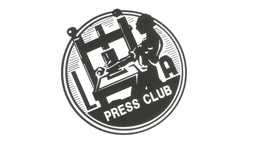 The LA Press Club Logo