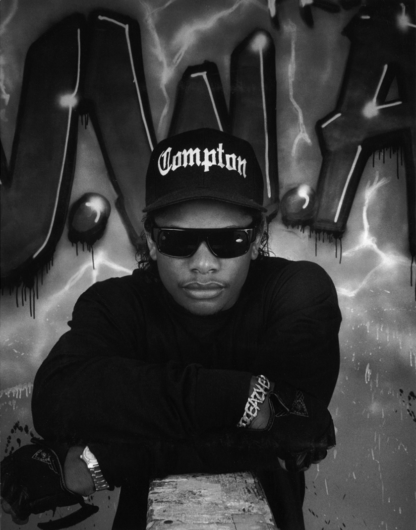 A George Rodriguez portrait of rapper Eazy-E