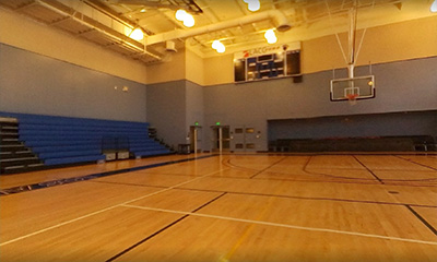 The LACC Basketball Court