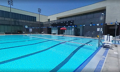 The LACC pool and aquatic center