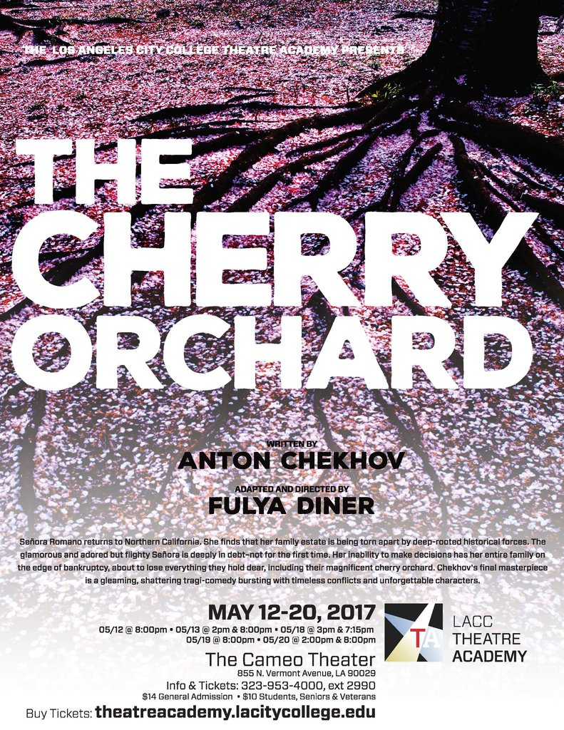 2017 flyer of cherry orchard production