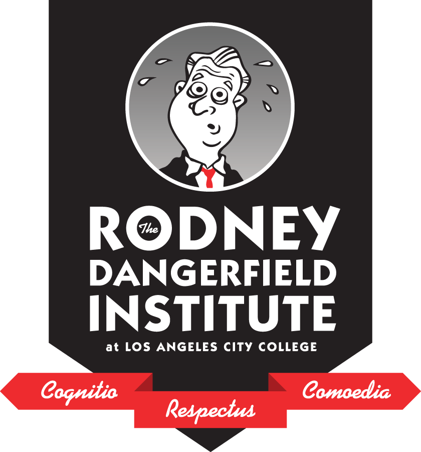 Logo for the Rodney Dangerfield Institute - Cognitio Respectus Comoedia