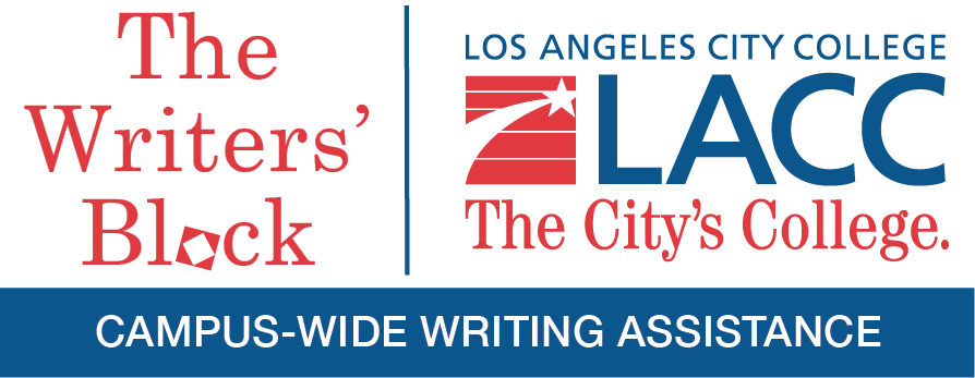 The Writers' Block - Campus-Wide Writing Assistance Program at LACC